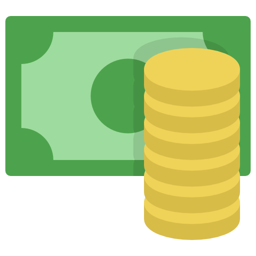 business color money coins icon icons.com 53446